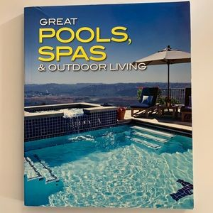 3/$20 Great Pools and Spas Outdoor Living Paperback Book